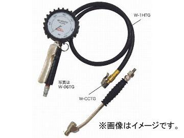 ライト精機 WAZAMONO/ワザモノ タイヤゲージ(大型メーター) W-06TG ~600kpa