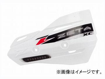 2輪 ZETA XCフラッシャープロテクター スモークレンズ ホワイト ZE72-3510 JAN:4547836199165