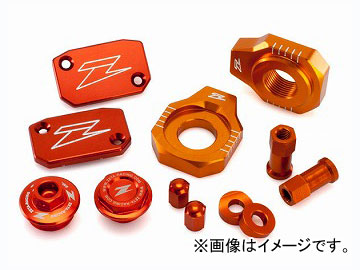 2輪 ZETA ビレットキット オレンジ ZE51-2433 JAN:4547836221248 KTM 450XC-W 2008年~2015年