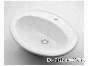カクダイ 丸型洗面器 1ホール 品番:#DU-0472560000 JAN:4972353003921