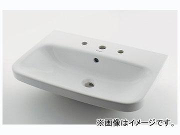 カクダイ 壁掛洗面器 3ホール 品番:#DU-2319650030 JAN:4972353044979