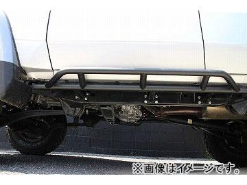 サクソン サイドステップ LGS-076 マットブラック塗装 トヨタ ランドクルーザー CBF-GRJ76K 1GR 4000cc