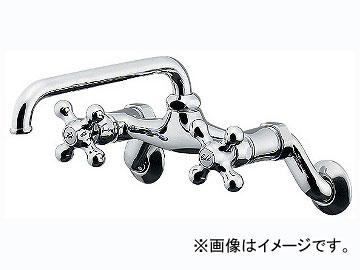 カクダイ 2ハンドル混合栓 品番:124-105 JAN:4972353124282
