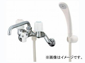 カクダイ 2ハンドルシャワー混合栓 品番:1378S JAN:4972353137886