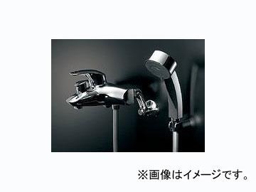 カクダイ シングルレバーシャワー混合栓 品番:143-012K JAN:4972353143283