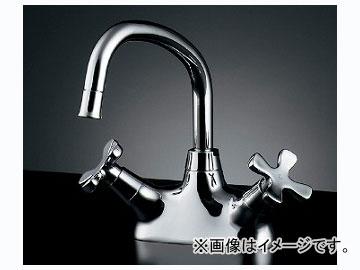 カクダイ 2ハンドル混合栓 品番:151-201 JAN:4972353002535