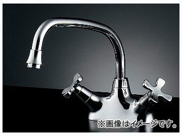 カクダイ 2ハンドル混合栓 品番:151-210 JAN:4972353013289