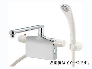 カクダイ サーモスタットシャワー混合栓(デッキタイプ) 品番:175-009K JAN:4972353053230