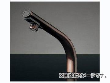 カクダイ 小型電気温水器(センサー水栓つき・ブロンズ) 品番:239-002-1 JAN:4972353022045