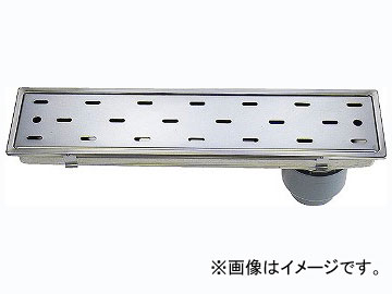 カクダイ 浴室用排水ユニット 品番:4285-150X450 JAN:4972353428502