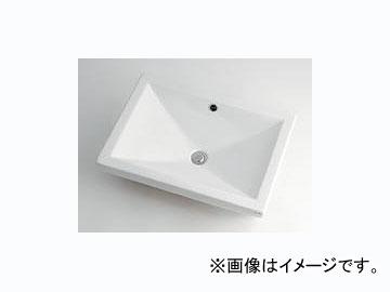 カクダイ 角型洗面器 品番:493-002 JAN:4972353493029