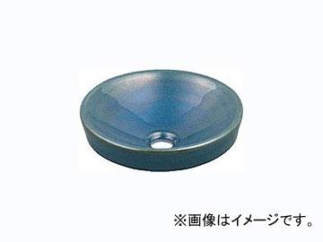 カクダイ 丸型手洗器 孔雀 品番:493-012-CB JAN:4972353493487