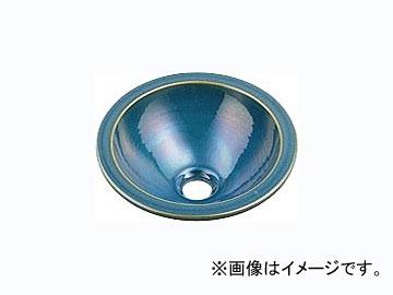 カクダイ 丸型手洗器 孔雀 品番:493-013-CB JAN:4972353493494