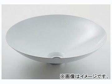 カクダイ 丸型洗面器 ホワイト 品番:493-045-W JAN:4972353022274