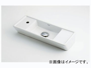 カクダイ 壁掛手洗器 品番:493-067 JAN:4972353030910