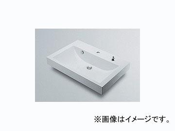 カクダイ 角型洗面器 1ホール・ポップアップ独立つまみタイプ 品番:493-070-750H JAN:4972353493968