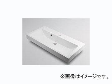 カクダイ 角型洗面器 1ホール 品番:493-070-1000 JAN:4972353493579