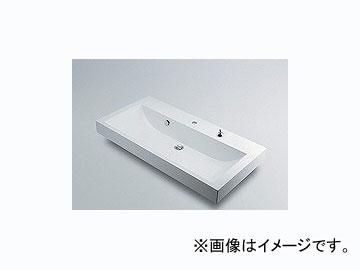 カクダイ 角型洗面器 1ホール・ポップアップ独立つまみタイプ 品番:493-070-1000H JAN:4972353493951