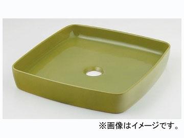 カクダイ 角型手洗器 ピスタチオ 品番:493-096-GR JAN:4972353046362