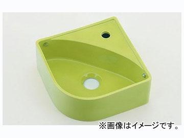 カクダイ 壁掛手洗器 イエローグリーン 品番:493-150-YG JAN:4972353052677