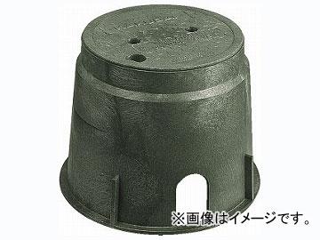 カクダイ 電磁弁ボックス(丸型) 品番:504-011 JAN:4972353504299