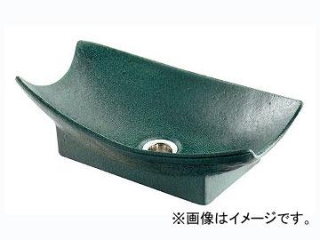 カクダイ 舟型手水鉢 濃茶 品番:624-934 JAN:4972353032150