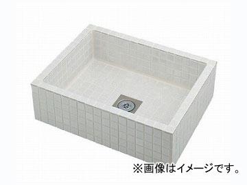 カクダイ 水栓柱パン(タイル張り・白) 品番:624-970 JAN:4972353054664