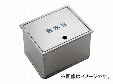 カクダイ 散水栓ボックス(フタ収納式) 品番:626-135 JAN:4972353021239