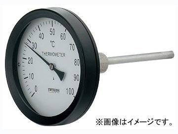 カクダイ バイメタル製温度計(アングル型) 品番:649-909-100B JAN:4972353038831