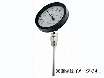 カクダイ バイメタル製温度計(45度傾斜型) 品番:649-911-100B JAN:4972353038879
