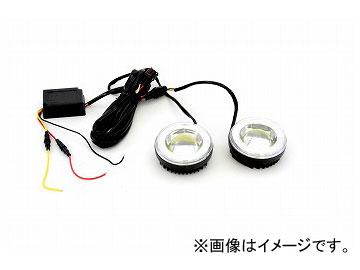 ジェットイノウエ COBフォグランプ LEDリング付 ホワイト/ブルー 526004