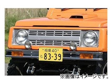 アピオ/APIO ブロンコ風フロントグリル 品番:3109-01 スズキ ジムニー JA11,JB31