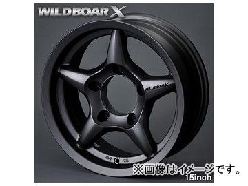 アピオ/APIO アルミホイール WILDBOAR X ガンブラック 品番:7200-15G 15インチ