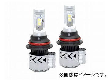 エムイーコーポレーション MAX Super Vision ハイパワー 36W/6000LM/6500k LEDヘッドライトバルブ Evo.III HB5 Hi/Lo 6500k ノーブルホワイト 品番:226405