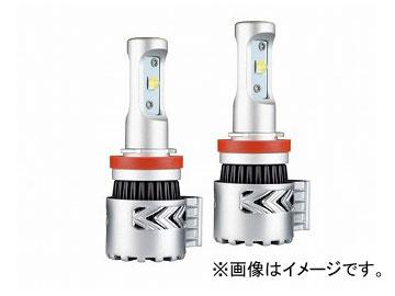 エムイーコーポレーション MAX Super Vision ハイパワー 36W/6000LM/6500k LEDフォグライトバルブ Evo.III H8/H11 6500k ノーブルホワイト 品番:226378