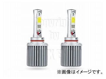 エムイーコーポレーション MAX Super Vision ハイパワー 20W LEDフォグライトバルブ(オールinワン)Evo.II H10 3000k クリスタルイエロー 品番:225562