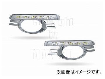 エムイーコーポレーション MAX Super Vision MAX-LEDデイタイムランニングライト付 フロントエアインテイク Type-2 品番:232701 W204 Cクラス アバンギャルド