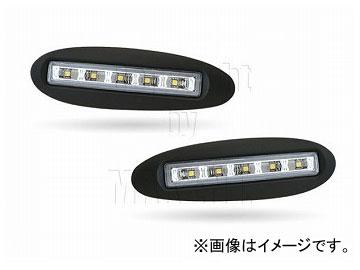エムイーコーポレーション MAX Super Vision MAX-LEDデイタイムランニングライト付 フロントエアインテイク Type-2 品番:232705 W220 Sクラス 1998年~2002年