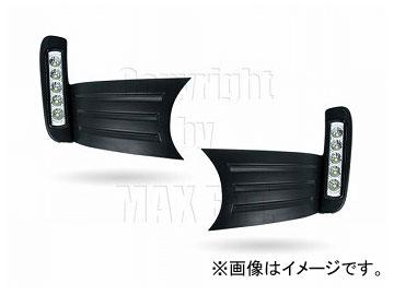 エムイーコーポレーション MAX Super Vision MAX-LEDデイタイムランニングライト付 フロントエアインテイク Type-2 品番:232733 ホンダ フィット RS