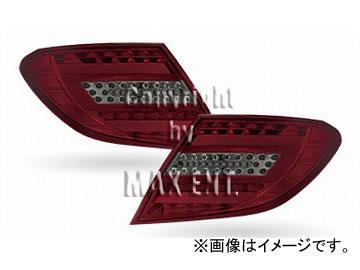 エムイーコーポレーション ZONE LEDテールレンズ '11-ルック タイプ-3 スモーク/レッド 品番:210609 メルセデス・ベンツ W204 Cクラス セダン 2007年~2010年