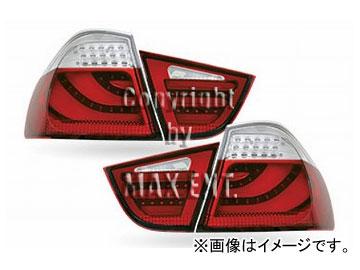 エムイーコーポレーション ZONE LEDテールレンズ F-ルック タイプ-1 クリアー/レッド 品番:210135 BMW E90 3シリーズ セダン 2008年~2011年