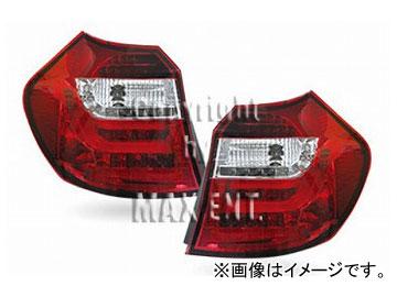 エムイーコーポレーション ZONE LEDテールレンズ F-ルック タイプ-1 クリアー/レッド 品番:210137 BMW E87 1シリーズ