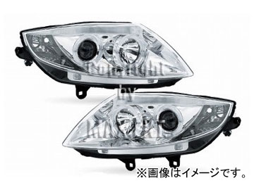 エムイーコーポレーション ZONE ツインキセノンプロジェクター4灯ヘッドライト 6000k/LED4リングポジションライト付 タイプ-1 品番:234232 BMW E85 Z4