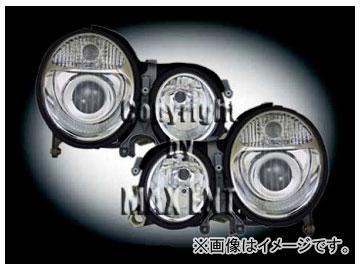 エムイーコーポレーション ZONE Bi-キセノンヘッドライト W211-ルック タイプ-1 品番:290001 メルセデス・ベンツ W210 ~1999年