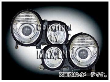 エムイーコーポレーション ZONE キセノンヘッドライト W211 '07-ルック タイプ-3 品番:290603 メルセデス・ベンツ W210 ~1999年