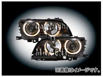エムイーコーポレーション ZONE キセノンヘッドライト/4-ホワイトリングライト付 タイプ-1 品番:231586 BMW E46 クーペ ~2001年
