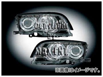 エムイーコーポレーション ZONE ツインキセノンヘッドライト/4-CCFLリングライト付 タイプ-3 品番:291147 BMW E46 クーペ ~2001年