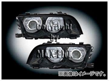 エムイーコーポレーション ZONE キセノンヘッドライト/4-CCFLリングライト付 タイプ-3 品番:291113 BMW E46 セダン ~2001年