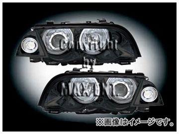 エムイーコーポレーション ZONE Bi-キセノンヘッドライト/4-CCFLリングライト付 タイプ-3+ウィンカーセット 品番:291125 BMW E46 セダン ~2001年