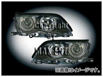 定番 エムイーコーポレーション ZONE セダン キセノンヘッドライト ZONE/4-クリスタルホワイトリングライト付 タイプ-2 品番:233041 BMW E46 2002年~2004年 セダン 2002年~2004年, ネジメチョウ:87ad6732 --- kventurepartners.sakura.ne.jp